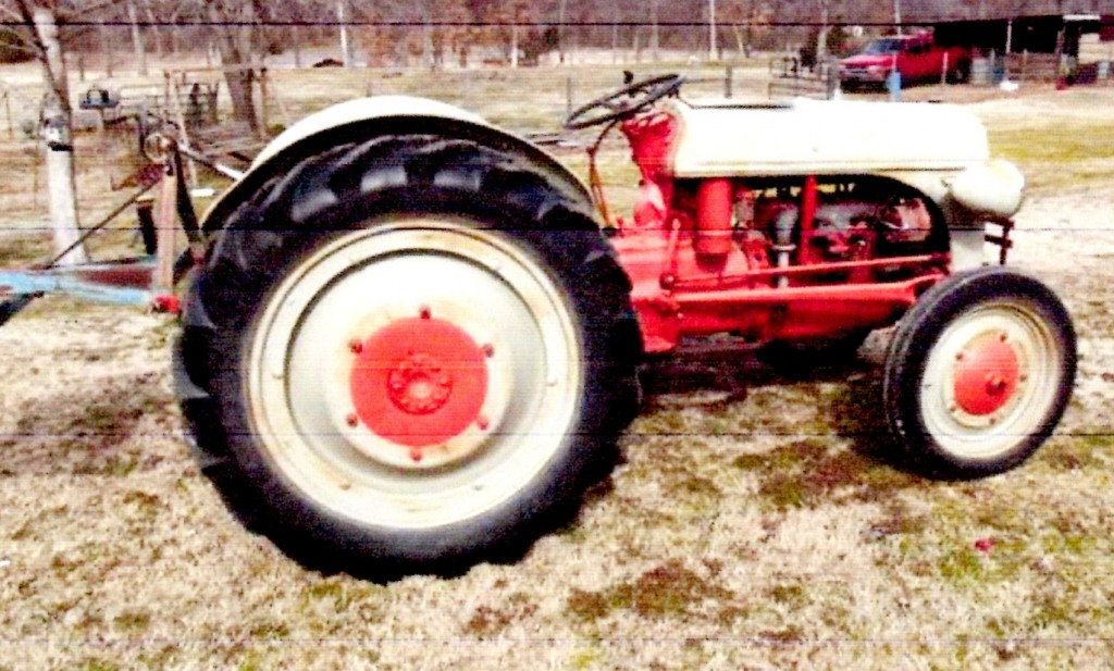 Antique Tractors Ford 9n : Tractor story ford n antique